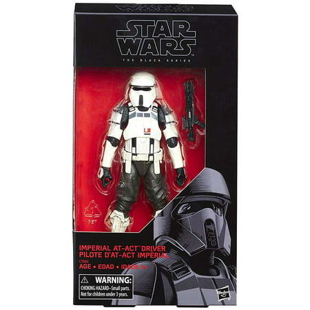 Star Wars Black Series Imperial AT-ACT Driver Action Figure (Star Wars Metal World)