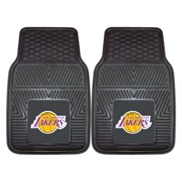 "Los Angeles Lakers 2-pc Vinyl Car Mats 17""x27"""