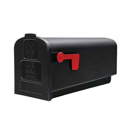 Gibraltar Parsons Medium, Plastic, Black Post Mount