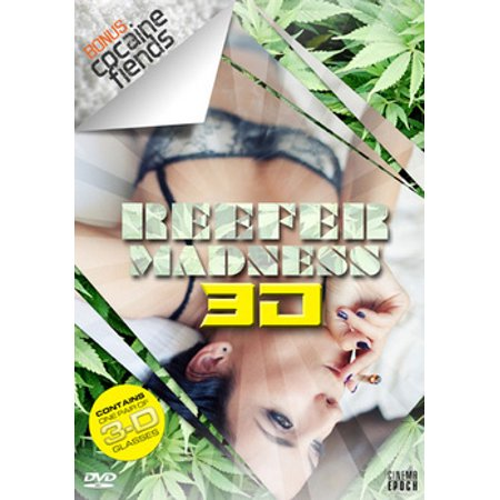 Reefer Madness 3D / Cocaine Fiends (DVD)