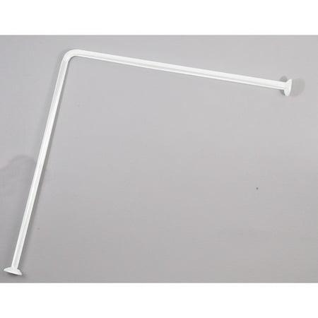 Evideco 315 L Shaped Shower Curtain Enclosure
