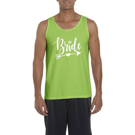 bride with diamond heart on arrow style w wedding dresses bridal shower bride gift mens tanks