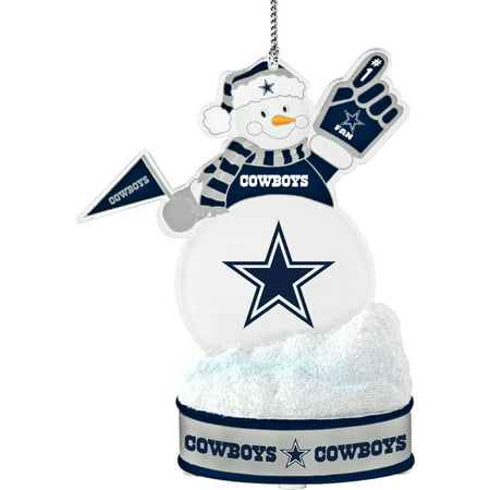 Topperscot by Boelter Brands NFL LED Snowman Ornament, Dallas -