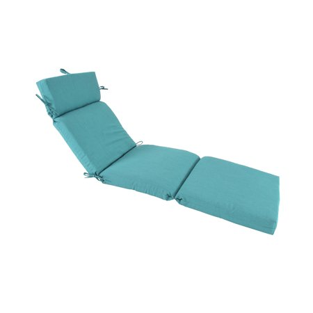 Pacifica Premium Patio Chaise Cushion by Astella in Surf - image 1 of 1