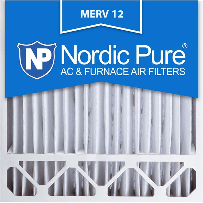 Honeywell FC100A1011 Replacement Pleated AC Furnace Air Filters MERV 12 19 5//8 x 19 7//8 x 4 3//8 Nordic Pure 20x20x4//20x20x5 Box of 2 20x20x5HM12-2