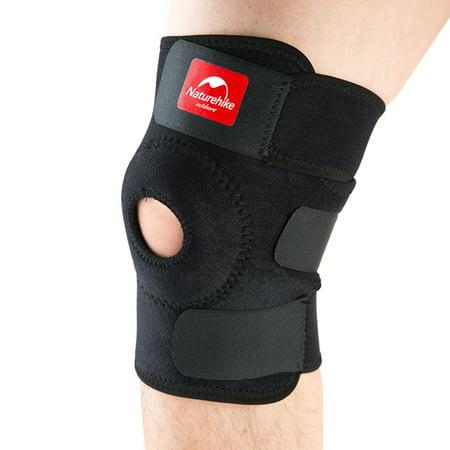 NatureHike Football Basketball Volleyball Black Durable Knee Shin Protector Guard Pad