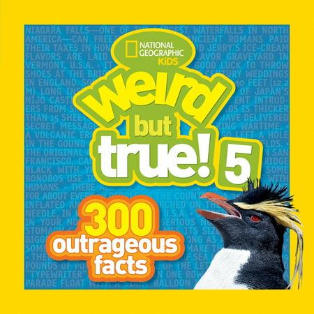 Weird But True! 5: 300 Outrageous Facts (Paperback) (True Facts About Halloween)