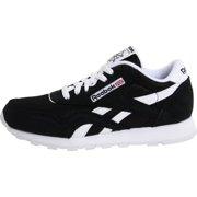 4fe7d92aa64f9 Reebok J21506  Kids  Classic Nylon Fashion Black White Sneaker Image 3 ...