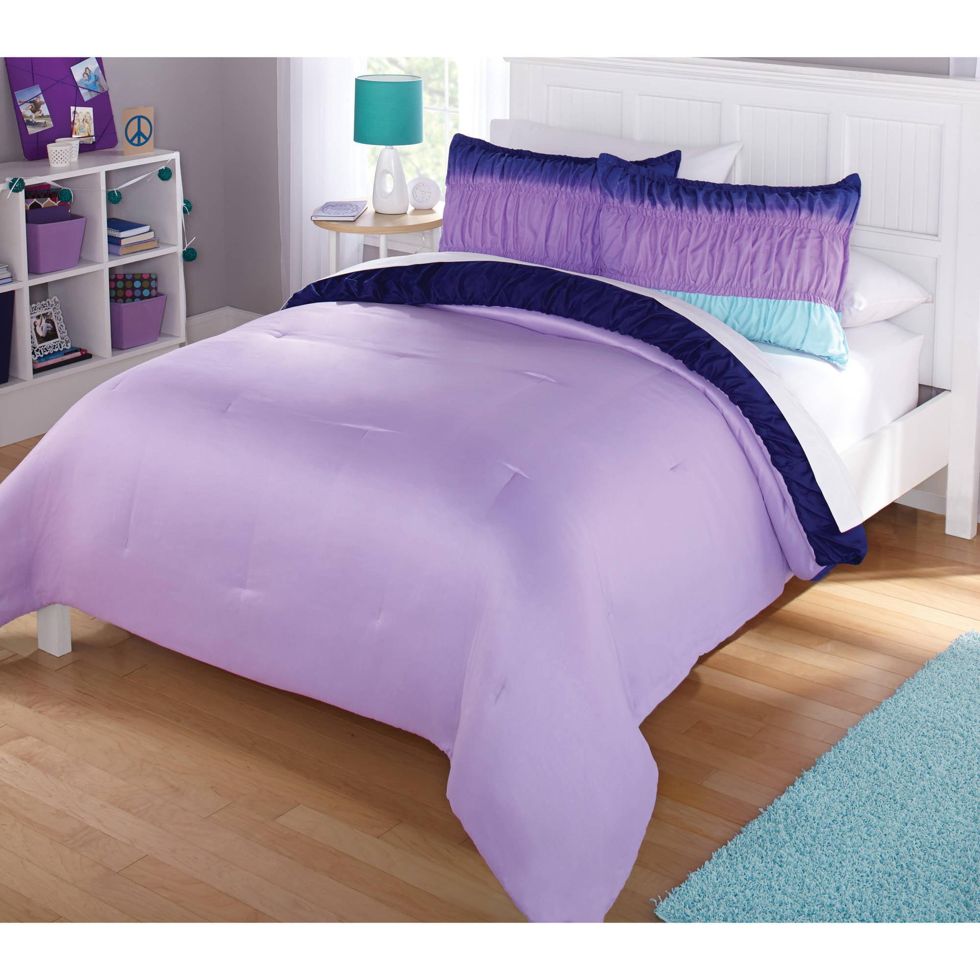 Bettwaren Wasche Matratzen Beautiful Fun Cozy Pink Blue Aqua Teal Purple Dog Puppy Girls Comforter Set Pandeglangkab Go Id