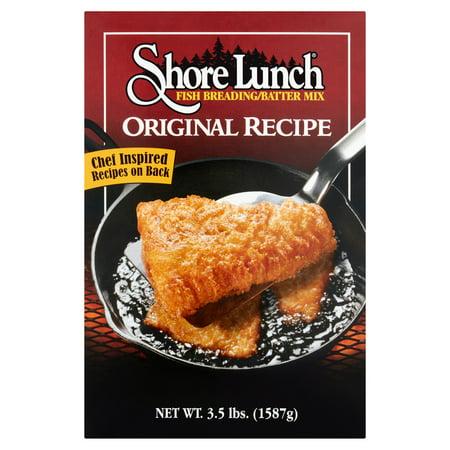 Shore Lunch Original Recipe Fish Breading/Batter Mix, 3.5 lbs (Excluding Frozen Bread)