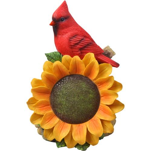 Moonrays 91342 Solar Powered Cardinal Wi