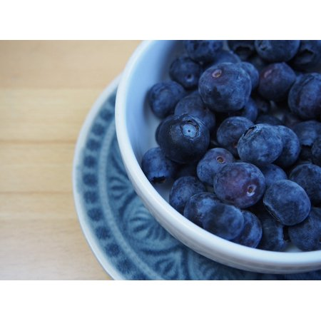 LAMINATED POSTER Heather Green Fruit Blueberries Vaccinium Poster Print 24 x (Blueberry Heather)