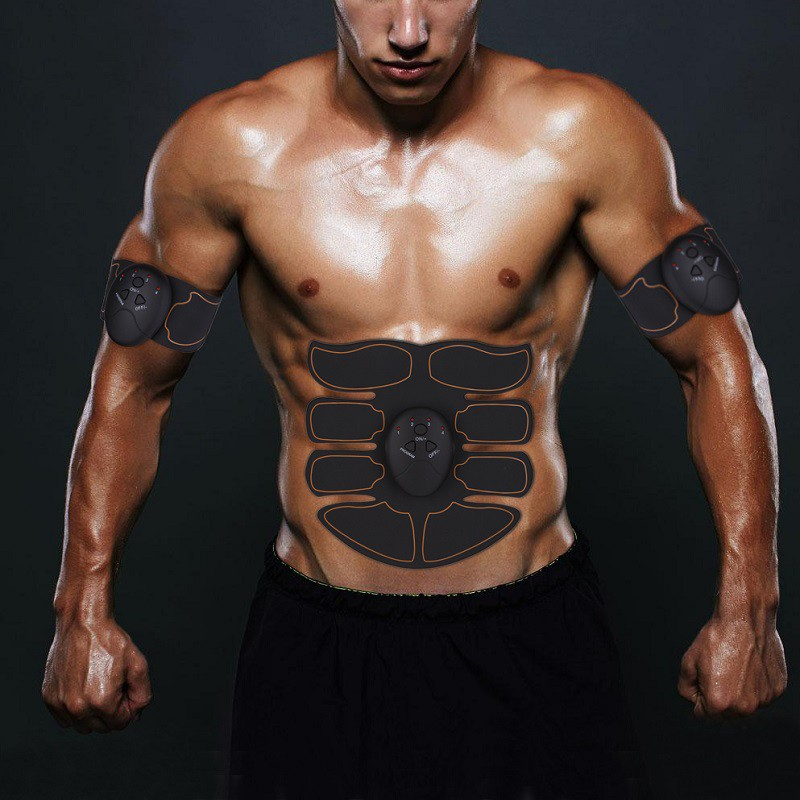 Electric Muscle Stimulator Abdominal Muscles Slimming Belt Fitness Machine Tool