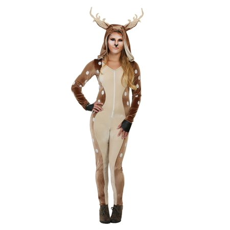 Womens Fawn Costume - Baby Fawn Halloween Costume