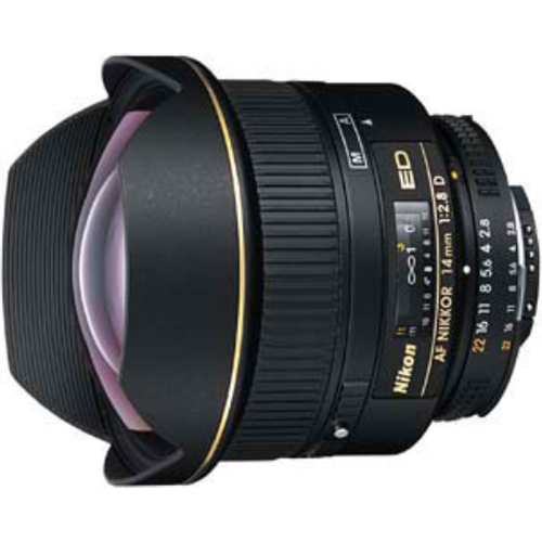 Nikon AF FX NIKKOR 14mm f/2.8D ED Ultra Wide Angle Fixed Zoom Lens with Auto Focus for Nikon DSLR Cameras