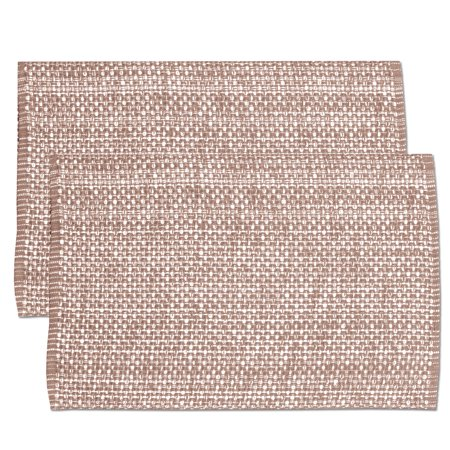 Lintex Trends Collection Two Tone Woven Placemat 100% Cotton 10