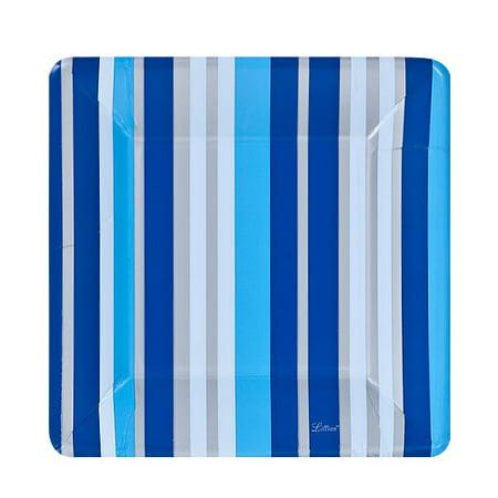 Lillian Dinnerware Paper Plate, Square, 7