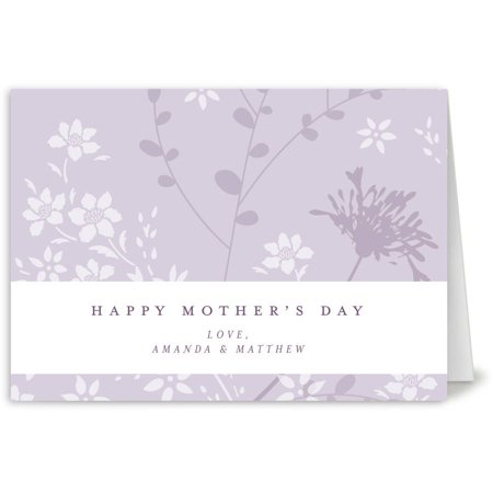 Mothers Day Floral Mother's Day Greeting Card
