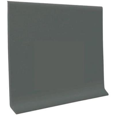 Roppe 2.5 In X .125 In X 48 In Black Brown Thermoplastic Rubber Wall Cove Base