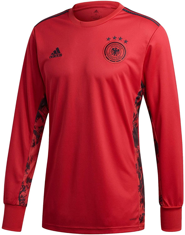 adidas 2020-2021 Germany Home Goalkeeper Football Soccer T-Shirt ...