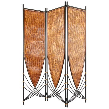 Oriental Furniture 72 39 39 X 52 5 39 39 Tropical Philippine 3 Panel Room Divider