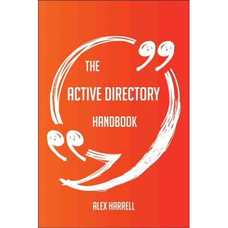 The Active Directory Handbook - Everything You Need To Know About Active Directory - (Active Directory Domain Controller Could Not Be Contacted)