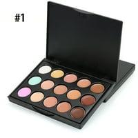 MIni 15 Colors Face Concealer Camouflage Cream Contour Palette
