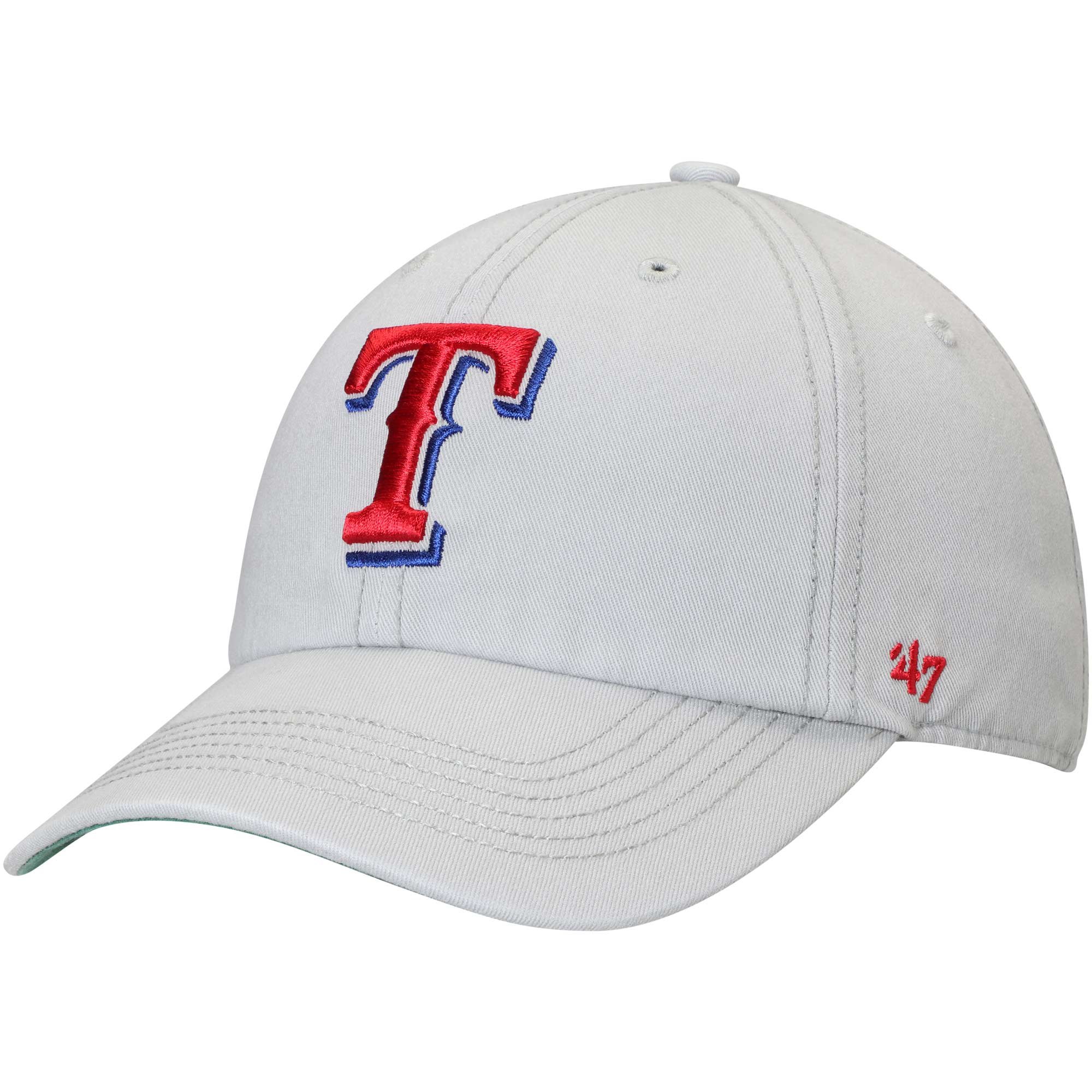 new products 59381 e8ad8 ... low price texas rangers 47 primary logo franchise fitted hat gray 06429  33b5a