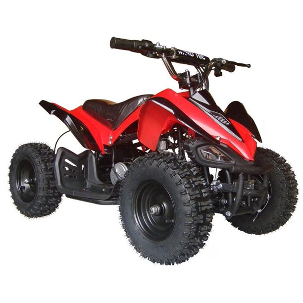 battery 24v powered mototec mini v2 atv quad bike ride wheeler four electric motor mars dirt volt outdoor yamaha walmart