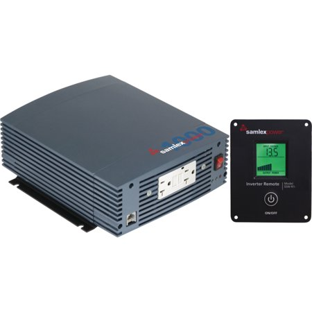 Control Pure Sine Wave Output - SamlexPower SSW-2000-12A SSW Series 2,000W Pure Sine Inverter with LCD Remote Control