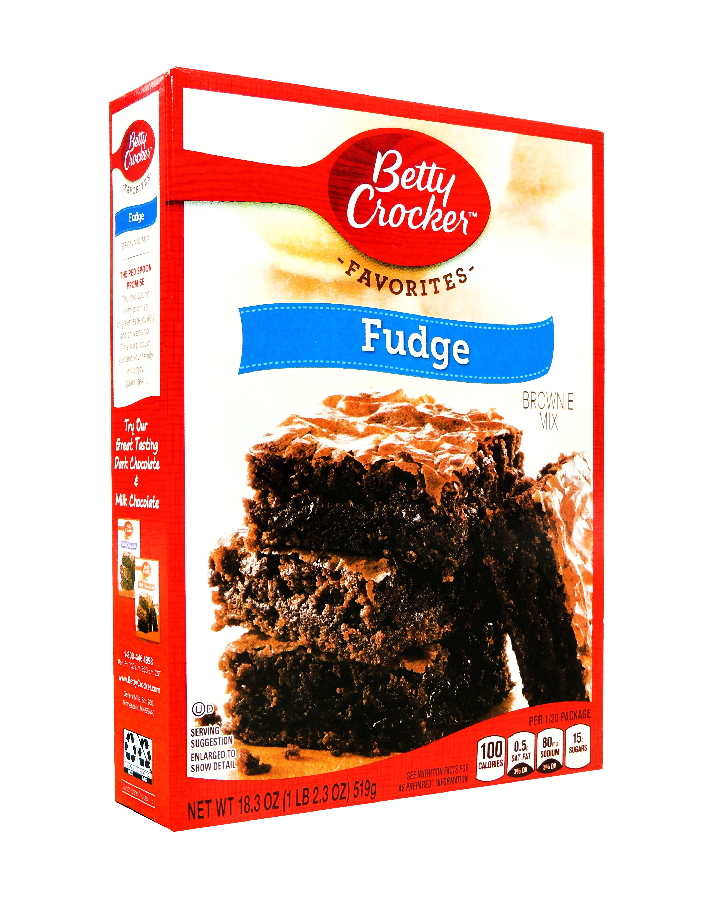Bty Crok Brwni Mix 18.3Oz Fudge 1 count only by Betty