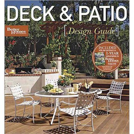 Deck Patio Design Guide Better Homes And Gardens Walmartcom