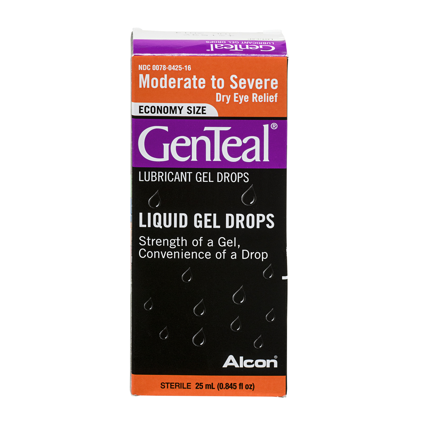 GenTeal Economy Size Liquid Gel Drops Moderate to Severe Dry Eye Relief, 0.845 FL OZ