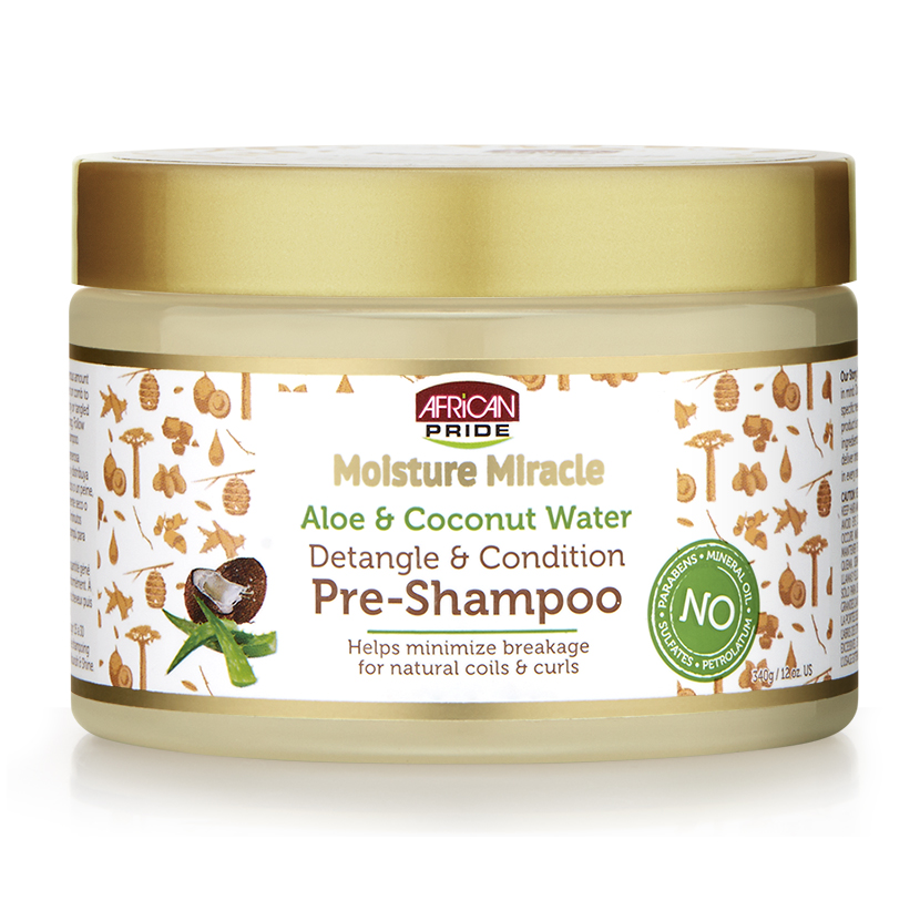 African Pride Moisture Miracle Pre-Shampoo 12oz