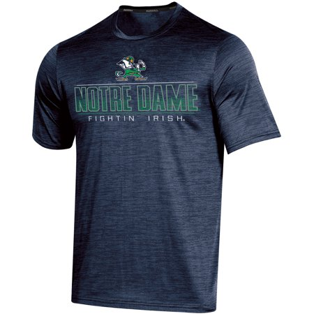 Men's Russell Navy Notre Dame Fighting Irish Synthetic Impact T-Shirt - Halloween Tree Notre Dame