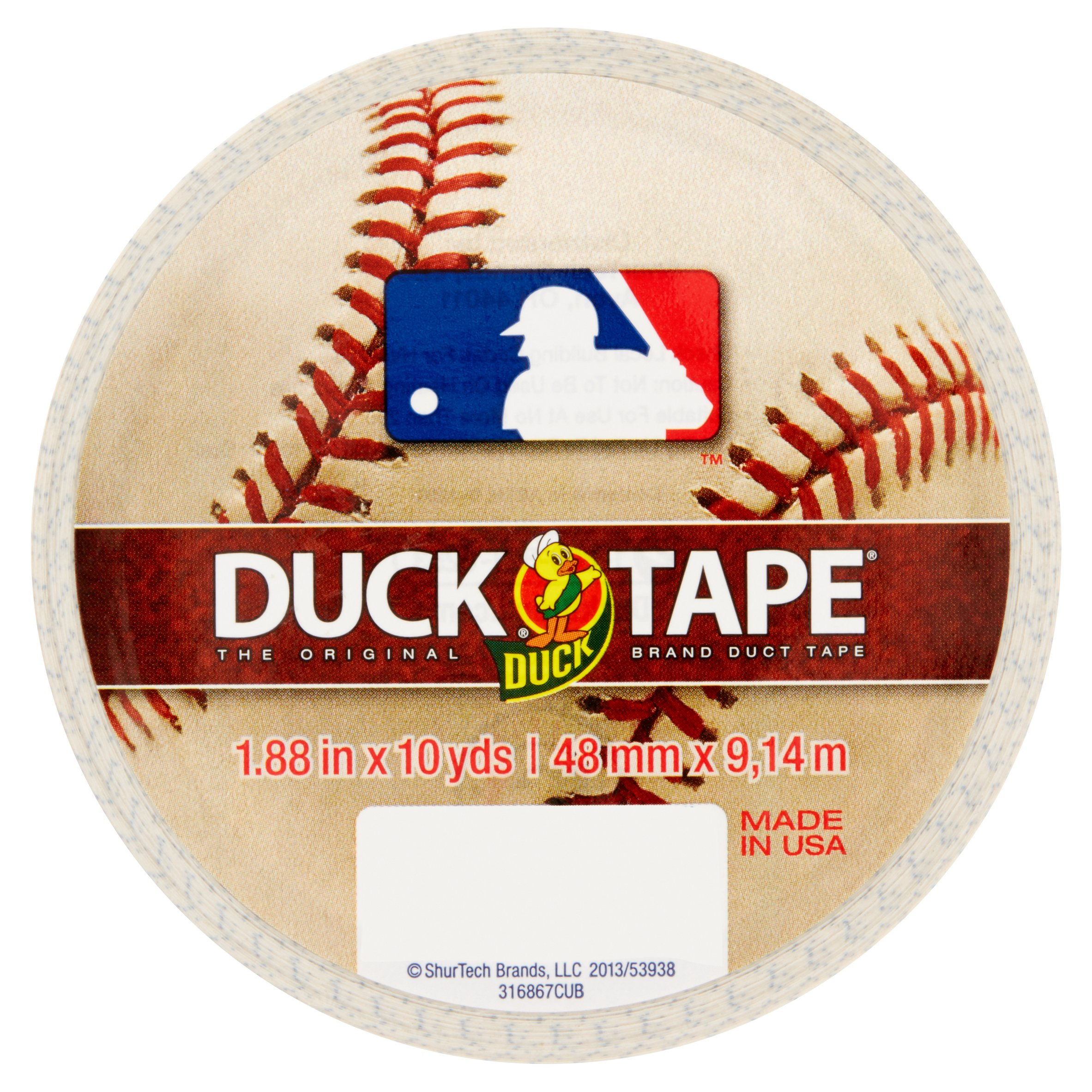 "Duck Brand Duct Tape, MLB Duck Tape, 1.88"" x 10 yard, Chicago Cubs"