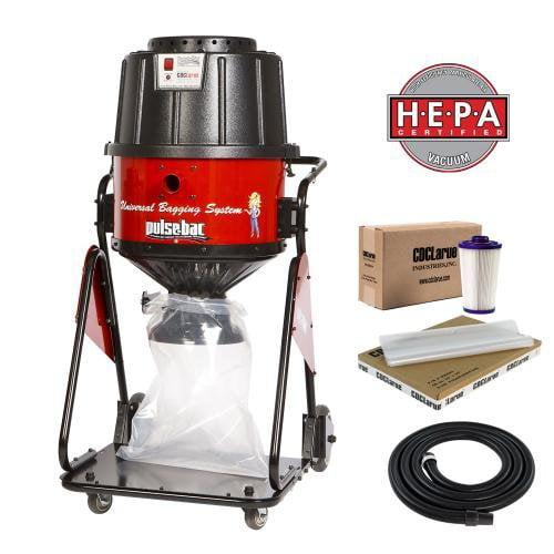 CDCLarue T103565SP HEPA Pulse-Bac No Clog Vacuum/Dust Collector