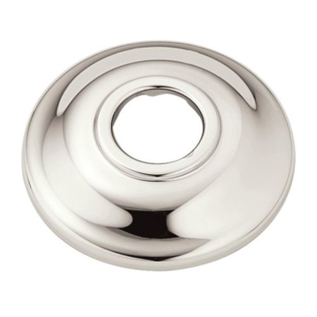 AT2199NL Shower Arm Flange, Nickel, Nickel finish provides a bright, highly  reflective warm grey metallic look By Moen