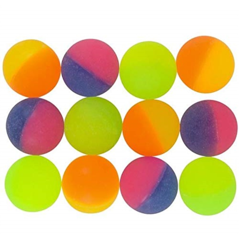 Rhode Island Novelty 32MM 1.2 Inch ICY Hi Bounce Balls
