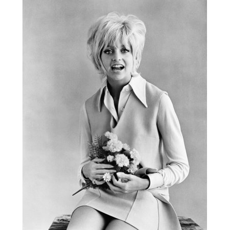 Cactus Flower Goldie Hawn 1969 Photo Print