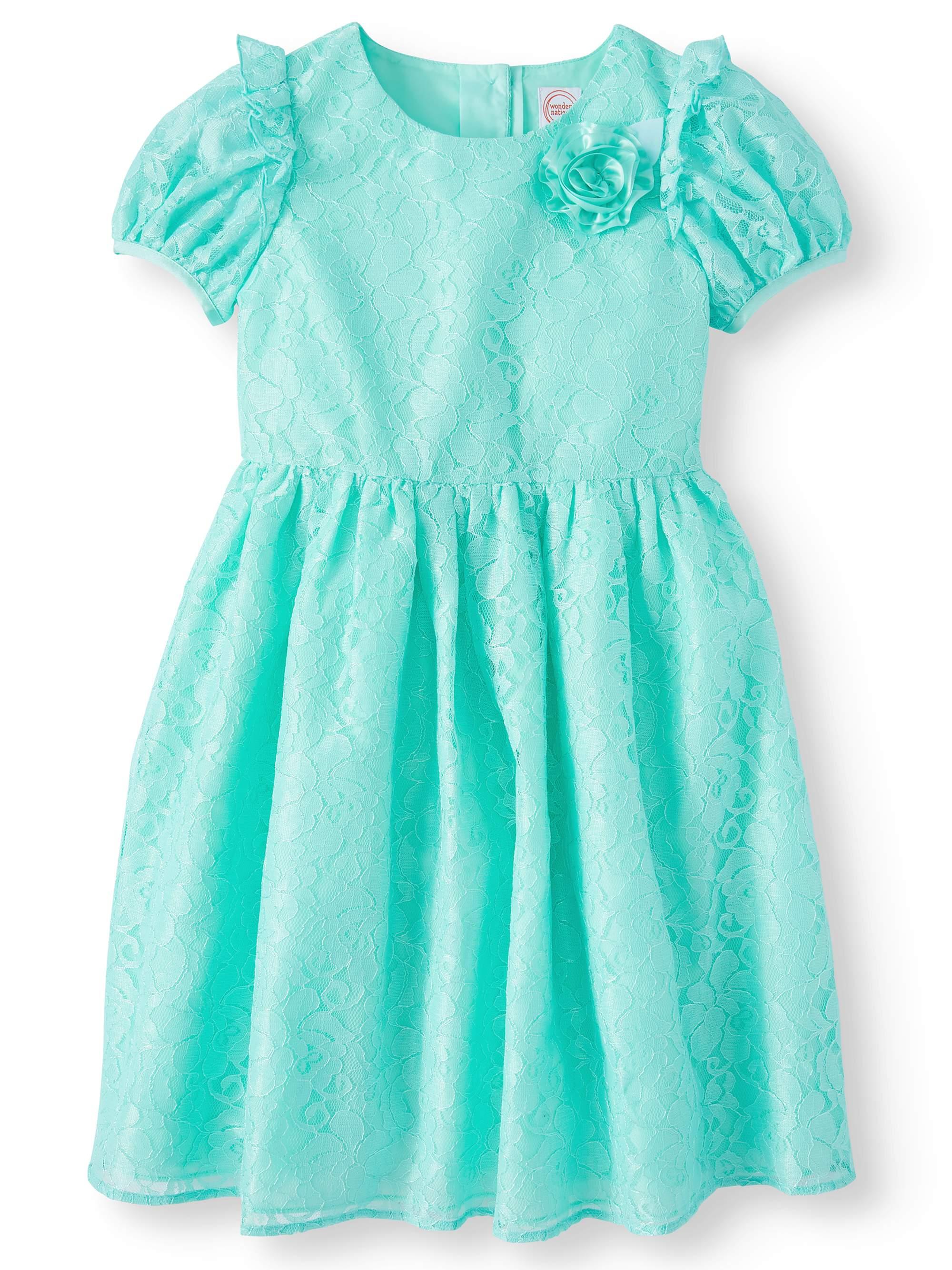 Cap Sleeve Lace Easter Dress (Little Girls & Big Girls)