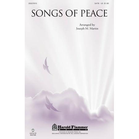 Shawnee Press Songs Of Peace Satb Arranged By Joseph M  Martin
