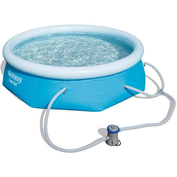 Bestway Fast Set 8 X 26 Swimming Pool Set With Filter Pump Walmart Com Walmart Com