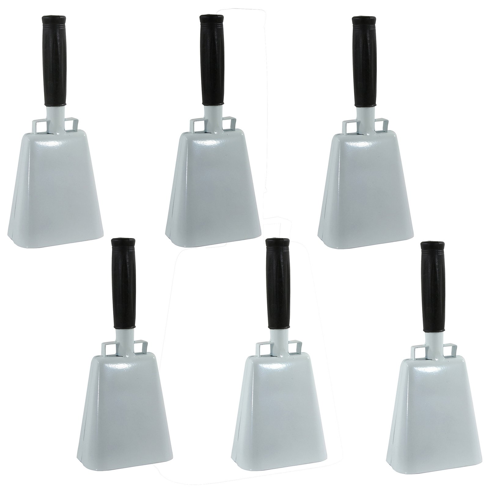 Buffalo Tools Customizable 6-Piece 10 Inch Cow Bell Set by Buffalo Corp