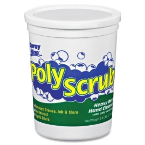 Spray Nine Poly Scrub Indust. Strength Hand Cleaner - 3.80 Lb - Green - 1 / Each - Solvent-free (ptx-13104)