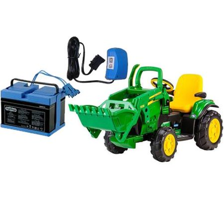 peg perego igor0069k john deere ground loader with 12. Black Bedroom Furniture Sets. Home Design Ideas