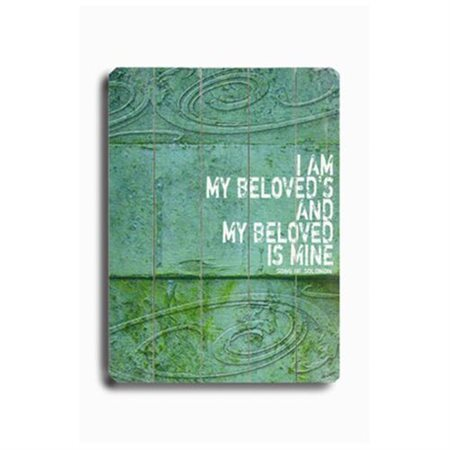 Artehouse LLC I Am My Beloved's by Lisa Weedn Textual Art Plaque