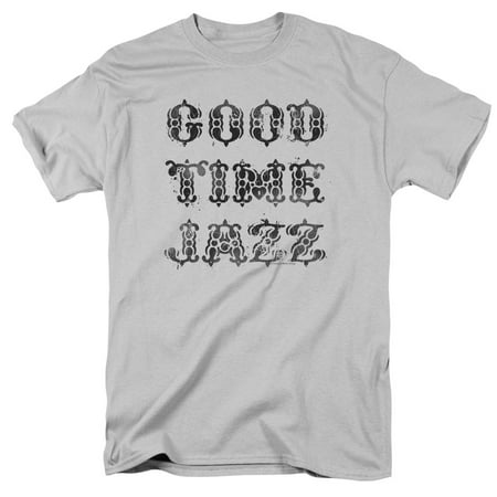 Good Time Jazz Gtj Vintage Mens Short Sleeve Shirt