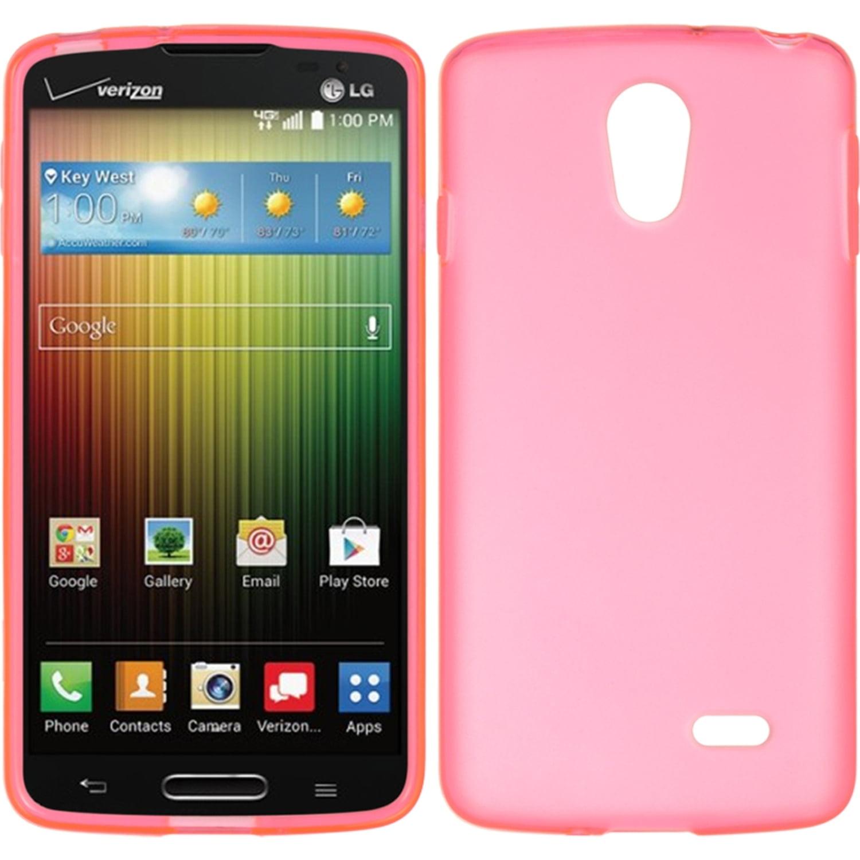 LG Lucid 3 VS876 Case, by Insten Rubber TPU Case Cover For LG Lucid 3 VS876