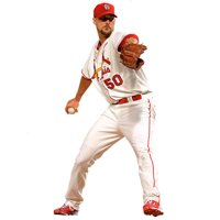Adam Wainwright St. Louis Cardinals Fathead Life Size Removable Wall Decal